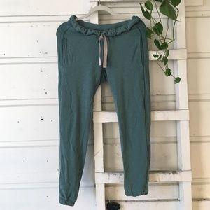 lululemon sweatpants - teal